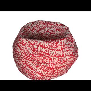 Bean Bag (Red Writing)