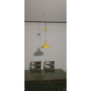 Pretty Yellow Pendant Light