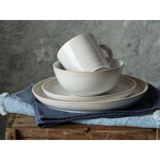 thinKitchen | Denby Natural Canvas Textured Coupe Dinner Plate