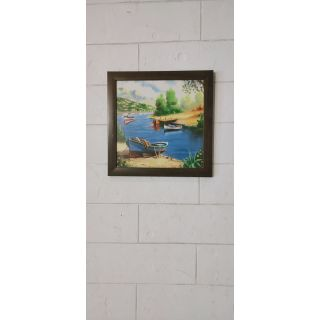 Wall Painting (HL21348) - Abstract Artwork