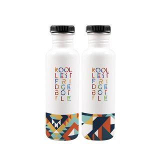 Geom Fridge Bottle 750ml (Set of 2)