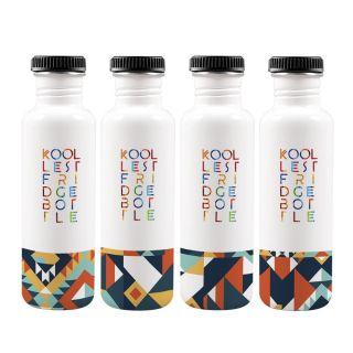 Geom Fridge Bottle 750ml (Set of 4)