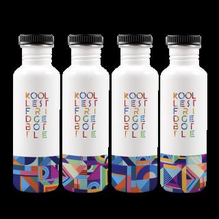 Tribal Fridge Bottle 750ml (Set of 4)