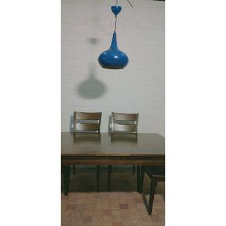 Royal Flask Blue Pendant Light