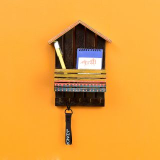 Mera Ghar Key Hanger with Storage Box (7x2.6x9.4)