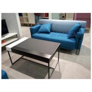 Blue 2-Seats Sofa
