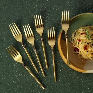 Masai Table Fork Set of 6