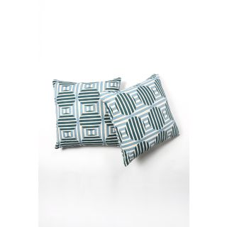 Contrast Living Printed Cushion Cover (20x20 inch / 50x50 cm, multi-color) - Pack of 2 Pcs (CLMYCL004)