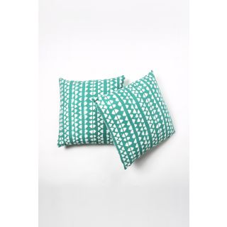 Contrast Living Printed Cushion Cover (20x20 inch / 50x50 cm, multi-color) - Pack of 2 Pcs (CLMYCL009)