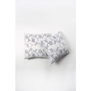 Contrast Living Printed Cushion Cover (20x20 inch / 50x50 cm, multi-color) - Pack of 2 Pcs (CLMYCL019)