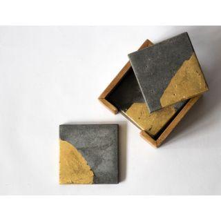 Concrete Coaster - Foil