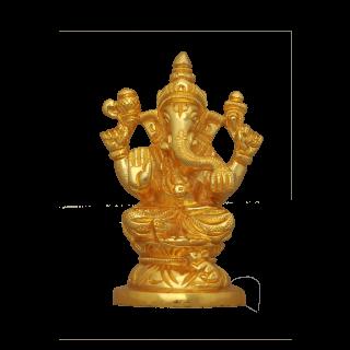 Ganesh - Micro Gold Coating