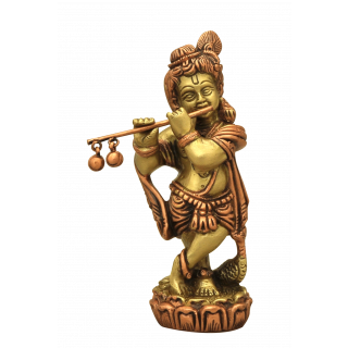 Konda Krishna Small - Brass Copper