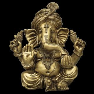 Pagadiganesha - Brass Antique