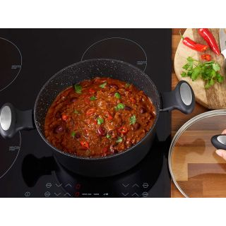 thinKitchen   Zyliss Stock Pot with Glass Lid, 24cm