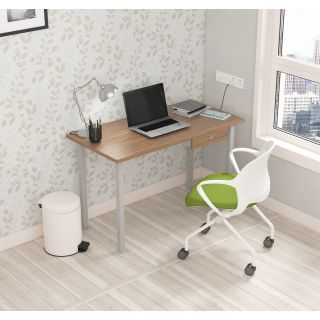SOS LiteOffice Eco Desk with Drawer Home and Office Table  - WFHECPTMLDRC060P