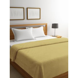 Mark Home Organic Percale Cotton Duvet Cover Double Brown