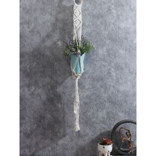 Hand Knotted Cotton Hanging for 01 Planter