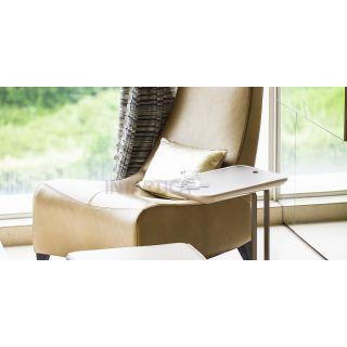 Faux Gold Leisure Chair