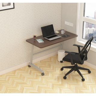 SOS  LiteOffice Fixed Mobile Desk Home and Office Table  - WFHMOPTMUFXC060L