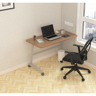 SOS  LiteOffice Fixed Mobile Desk Home and Office Table  - WFHMOPTMUFXC060P