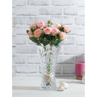 Bunch of 2 Peach Artificial Rose Sticks(FL20387PE)