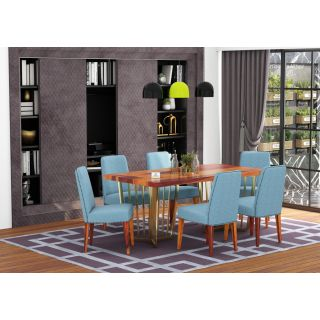 Flossy 6 Seater Dining Set