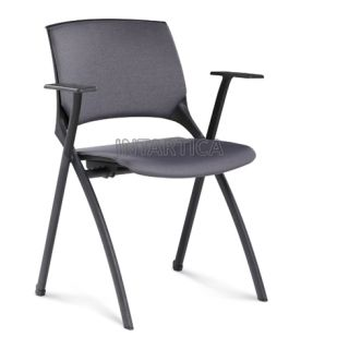 Foldable and Stackable Training Chair