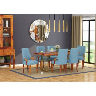 Halcyon 6 Seater Dining Set