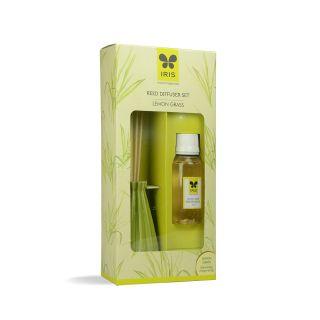 Iris New lemon Grass Reed Diffuser  (INRD0195LG)