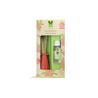 IRIS Apple Cinnamon Reed Diffuser, Multicolour  (INRD0194AC)