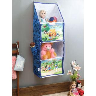 Disney Mickey Mouse and Friends Blue Color Portable Kids Hanging Rack