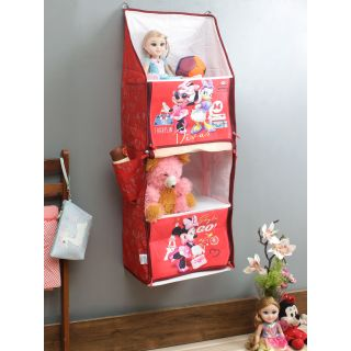 Disney Minnie Mouse Red Color Portable Kids Hanging Rack