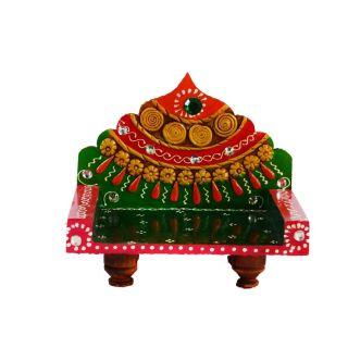 eCraftIndia Royal Throne for Mandir(Temple) (KOM502)