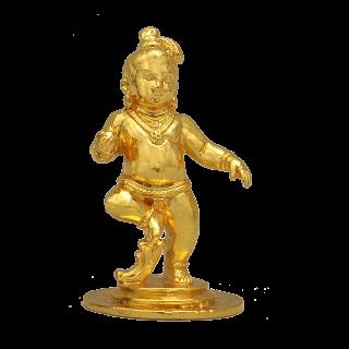 Krishna Kaliya - 24k Gold Plated