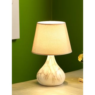 Marble Finish Bottle Style Ceramic Table Lamp(LAM18103)