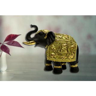 elephant carving gold