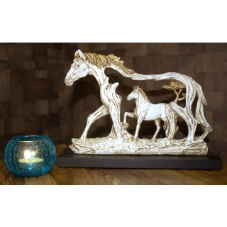 horse in horse White