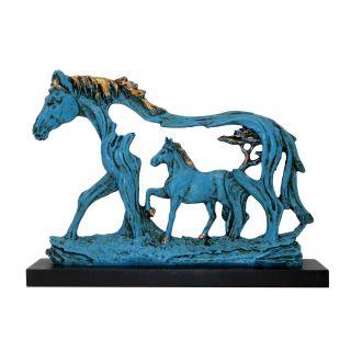 horse in horse Blue