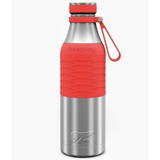 Headway Burell Stainless Steel Insulated Bottle 600 ML - Coral Color