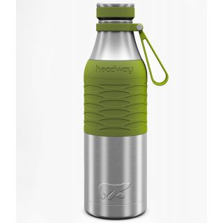 Headway Burell Stainless Steel Insulated Bottle 600 ML - Military Green