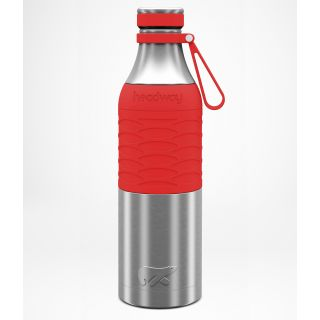Headway Burell Stainless Steel Insulated Bottle 750 ML - Coral Color