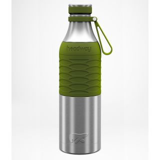 Headway Burell Stainless Steel Insulated Bottle 750 ML - Military Green