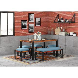Milate 6 Seater Dining Set with Bench