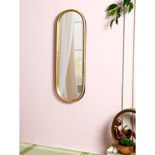 Golden Metallic Frame with Mirror