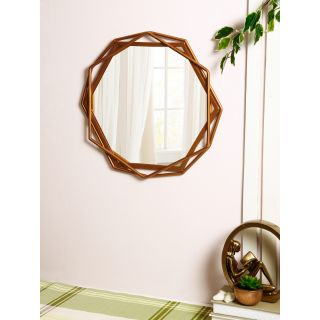 Handcrafted Rose Gold Metallic Frame with Mirror