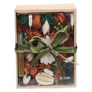 Potpourri in Wooden Box Orange Fragrance