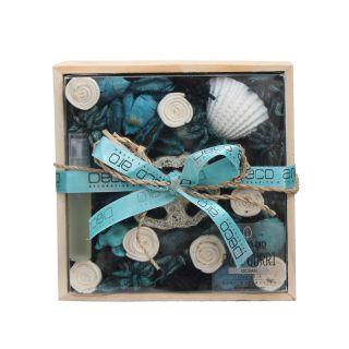 Potpourri in Wooden Box Ocean Fragrance