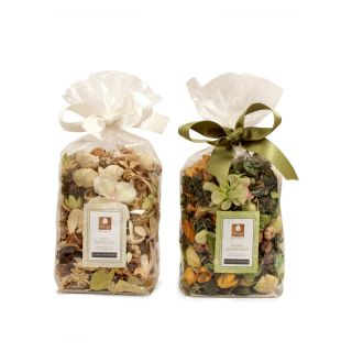 Potpourri in Pouch - Pack of Two - Waterlily / Lemon Grass Fragrance
