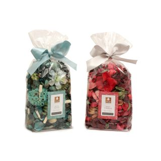 Potpourri in Pouch - Pack of Two - Mystic Island / Tuberose Fragrance